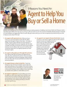 9 Reasons You Need an Agent to Help You Buy or Sell a Home 1