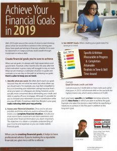Achieve Your Financial Goals in 2019 (1)