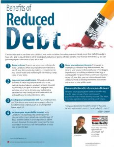 Benefits of Reduced Debt 1