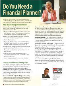Do You Need a Financial Planner 1