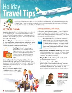 Holiday Travel Tips 1