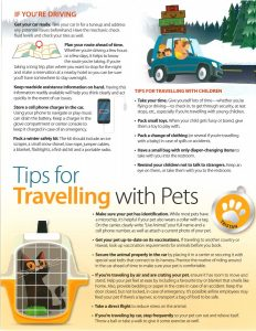 Holiday Travel Tips 2