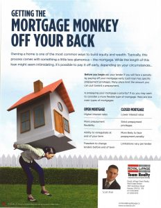 Mortgage Monkey Off Your Back 1