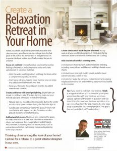 Relaxation Retreat in Your Home 1