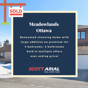 SOLD Meadowlands Ottawa
