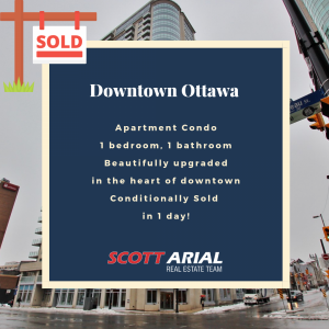 SOLD Downtown