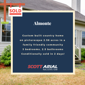 SOLD Almonte