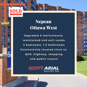 SOLD Nepean