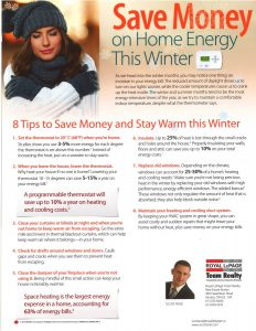 Save Money on Home Energy This Winter 1