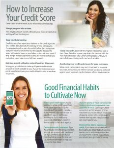 The Benefits of Great Credit 2